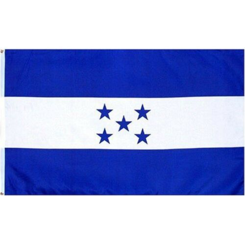 """Wholesale Combo Set Honduras Country 3x5 3'x5' Flag and 8/""""x60/"""" Scarf"""