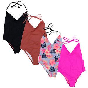 a46566ba87 Victoria's Secret Pink Bathing Suit Halter One Piece Swimsuit ...