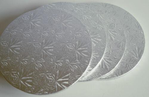 "Baking 5/"" Round Silver Cake Boards Sugarcraft Cake Decorating 5 Single Thick"