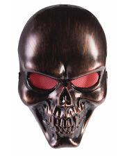 Bronze Skeleton Skull Mask Halloween Costume Accessory