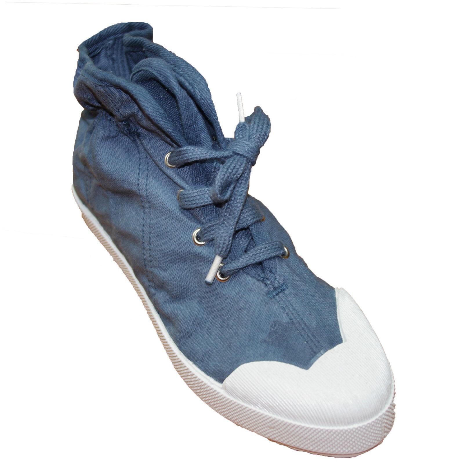 Baskets toile LA FEE MARABOUTEE femme bleu taille 35