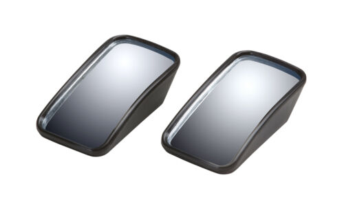 """2 PC 2/"""" Rectangle Wedge Blind Spot Mirror Wide Angle Convex"""