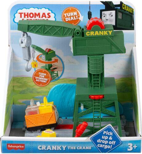 NEW FISHER THOMAS /& FRIENDS CRANKY THE CRANE PLAYSET THOMAS THE TANK ENGINE