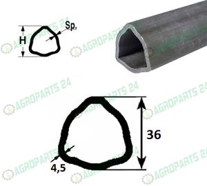 Zapfwellenprofil Dreieckprofil Profilrohr Gelenkwelle Walterscheid 36,0 x 4,5 mm