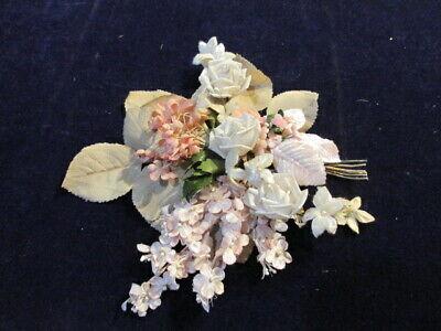 Vintage Millinery Blume Sammlung 3/8-1 1/2 Elfenbein Pink Japan Schäbig H2772 Duftendes (In) Aroma