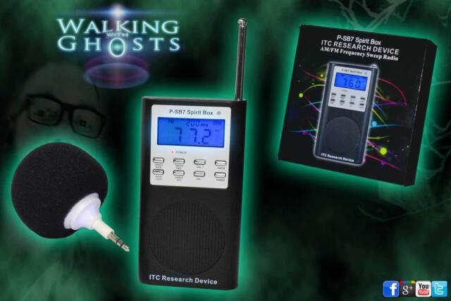 DAS PSB7 Spirit Box ITC Research FM/AM Ghost Radio Paranormal Equipment