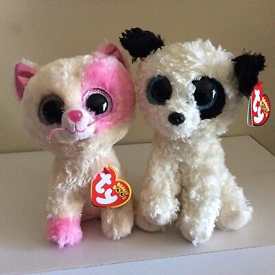 6 Inch NM* Ty Beanie Boos ~ LeeAnn the Lemur NEW NMWMT
