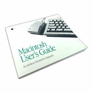 Apple-Macintosh-User-039-s-Guide-for-desktop-Macintosh-computers-1992-Vintage-Manual