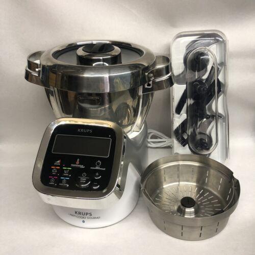 KRUPS HP6051 Prep & Cook Küchenmaschine Kochfunktion Multifunktion Bluetooth App  E2WuB