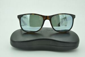 566b018d36 Ray Ban RB 4202 ANDY Sunglasses 710 Y4 Tortoise Polarized Silver ...