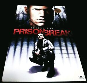 Prison Break Dvd Season One Ebay