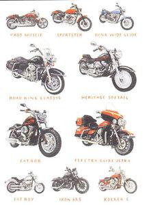 HARLEY-DAVIDSON-MOTORCYCLE-GREETINGS-CARD-BIRTHDAY-CHRISTMAS-FATBOY-FATBOB-VROD