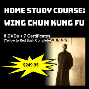 Home-Study-Course-Wing-Chun-Kung-Fu-Yellow-to-Red-Sash-Complete