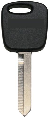 1 Single Uncut Blade Transponder Chip Key Blank For Ford Mercury H73-PT