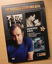 Manfred Krug - Die grossen Stars der DEFA 4 DVDs Box Set DVD Set
