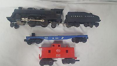 Vintage Lionel Treni Locomotiva 242, Cr 9312, Nyc 18326 Avere Sia La Qualità Della Tenacia Che La Durezza