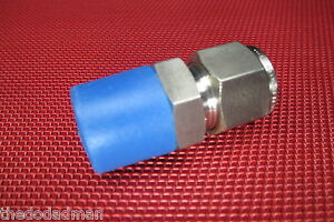Brennan-1-2-Tube-OD-x-1-2-NPT-Male-Pipe-STRAIGHT-CONNECTOR-316-Stainless-Steel