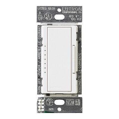 Lutron Maestro 1 25 amps 150 watts Three-Way Dimmer Switch White | eBay