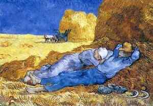 Vincent Van Gogh [The Siesta] Puzzle 1000 pcs Jigsaw puzzles TOMAX Art Vintage