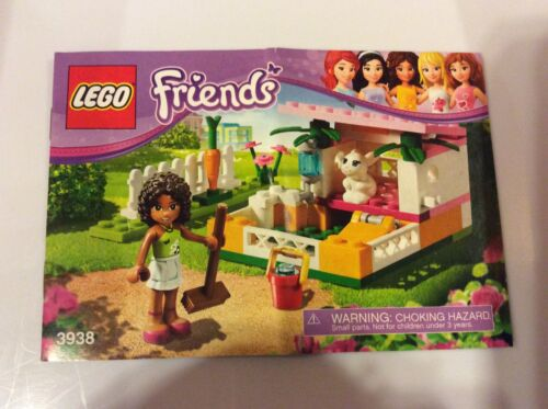 New Lego Instruction Manual ONLY Andrea/'s Bunny House from Set 3938