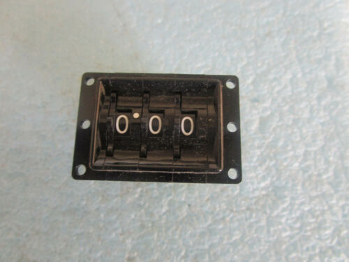 3 Digit Thumb Counter The Digitran Company Model 29-T-0066 New Old Stock /<