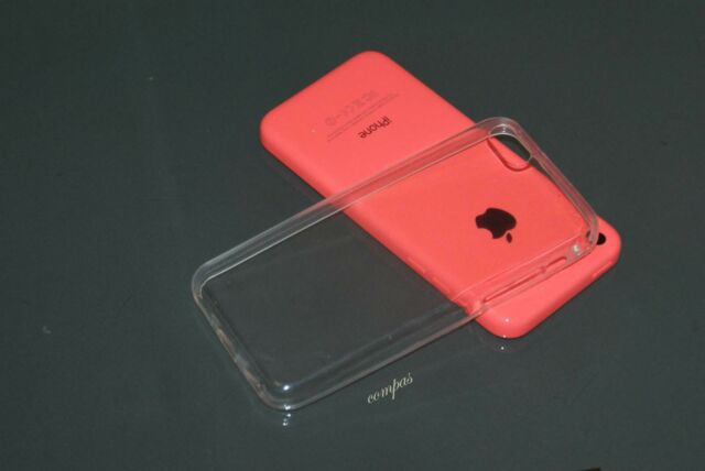 Crystal Clear Transparent Soft Thin Gel Silicone TPU Case Cover For iPhone 5C