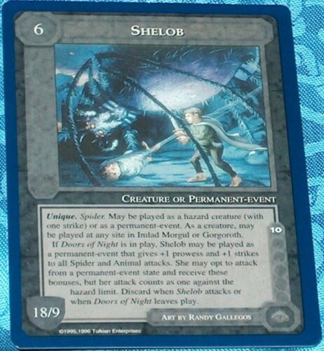 MECCG CCG Middle-earth Shelob The Wizard Unlimited TWUL NEAR MINT