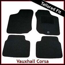 Vauxhall Corsa B 1993-2000 Tailored Carpet Car Floor Mats BLACK