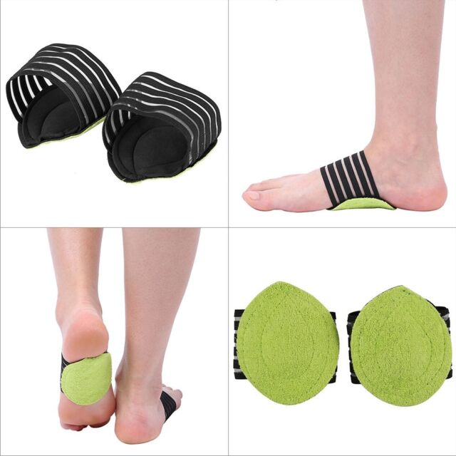 Foot Heel Pain Relief Insole Pad & Arch Support Plantar Fasciitis Shoes Insert