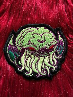FKN RAD Limited Edition Lapel Pin Back Punk Cthulhu