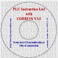 PLC Instruction List with CODESYS V3.5 (Simulation PLC, HMI, Visualization)
