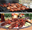 LONG-METAL-BBQ-BARBECUE-KEBAB-FOOD-MEAT-GRILL-STICKS-SKEWERS-COOKING-40CM-LONG thumbnail 3