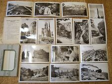 Lot of Vintage Real Photo Postcards, Pikes Peak Area Colorado