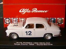 ALFA ROMEO 1900 BERLINA #12 GUIDI BERARDI TARGA FLORIO 1955 M4 7185 1/43 italia