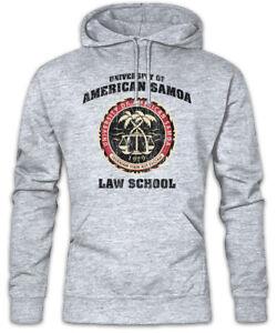 University of American Samoa Sweatshirt Pullover Better Call Goodman Saul Symbol
