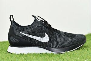 Nike 'Fast Pack' Air Zoom Mariah Flyknit Racer Trainers In Black 918264 001