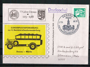 DDR-Sou-Minr-1947-Sst-Dessau-X-Bezirksbriefmarkenausstellung-07-05-1988