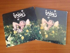 """Katy Perry DAISIES signed 7"""" vinyl single yellow (2020 LP RSD Prism Styles)"""