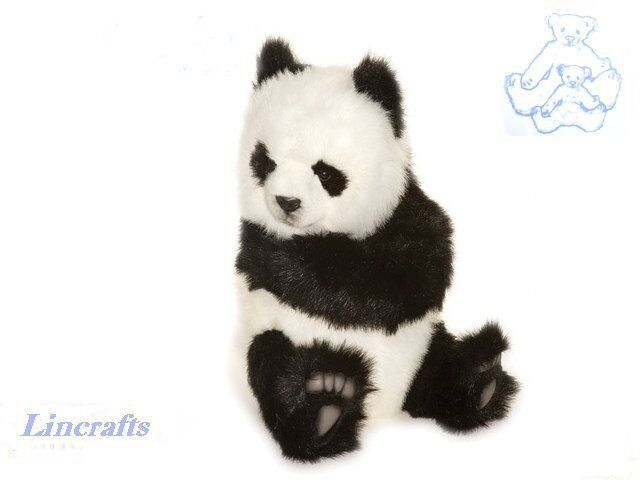 Hansa Sitting Panda 4183 Plush Soft Toy Sold by Lincrafts Established 1993