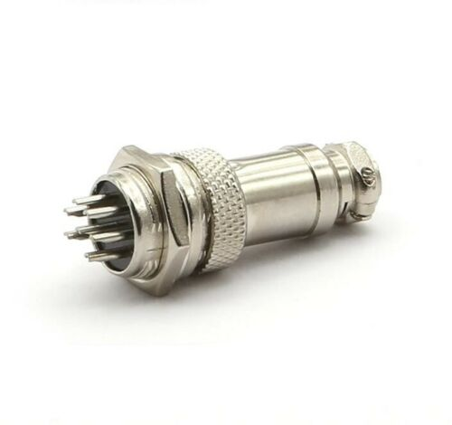 GX16 Male+Female 16mm Thread Connector Aviation Power Plug Dust cover