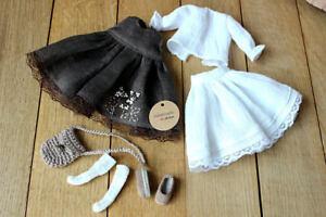 Blythe-doll-dress-Blythe-accesories-Blythe-outfit-Blythe-doll-clothes-socks