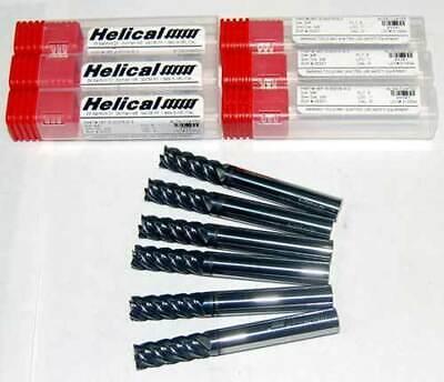 "Carbide ALTiN End Mills-Stainless,Titanium,Nickel 3 Helical 1//2/"" 5FLT High Perf"
