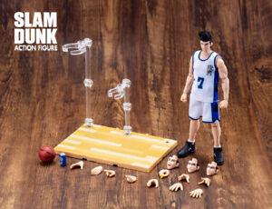 Dasin Model Slam Dunk Basketball #4 Uozumi Jun S.H.Figures Action Figure White