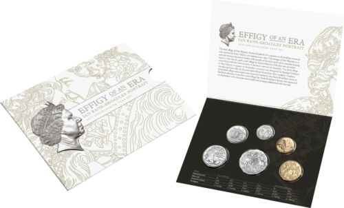 RAM 2017 UNC Six Coin Year Set Effigy of An Era Ian Rank-Broadley Portrait