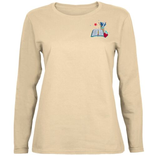 Teacher/'s School Supplies Patch Women/'s Long Sleeve T-Shirt