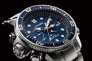 CITIZEN-BN2030-88L-Watch-PROMASTER-MARINE-Eco-Drive-Crocio-CollaborationMen-039-s