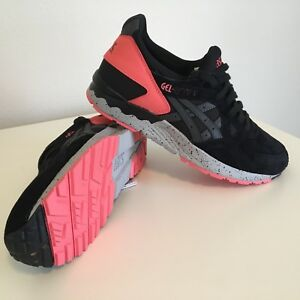 official photos 0e86a 443bc Image is loading Asics-Gel-Lyte-V-5-Black-Gray-Infrared-