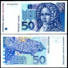 CROATIA banknote , 50 KUNA 1993 year  UNC, pic#31