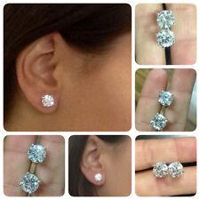 45fca0b551c31 Buy Sonia Bitton 18 K White Gold 1 4 Ct TDW Diamond Stud Earrings ...