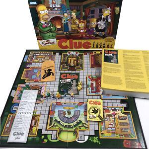 Los-Simpsons-pista-edicion-2002-2nd-Juego-De-Mesa-Parker-Brothers-100-Completo